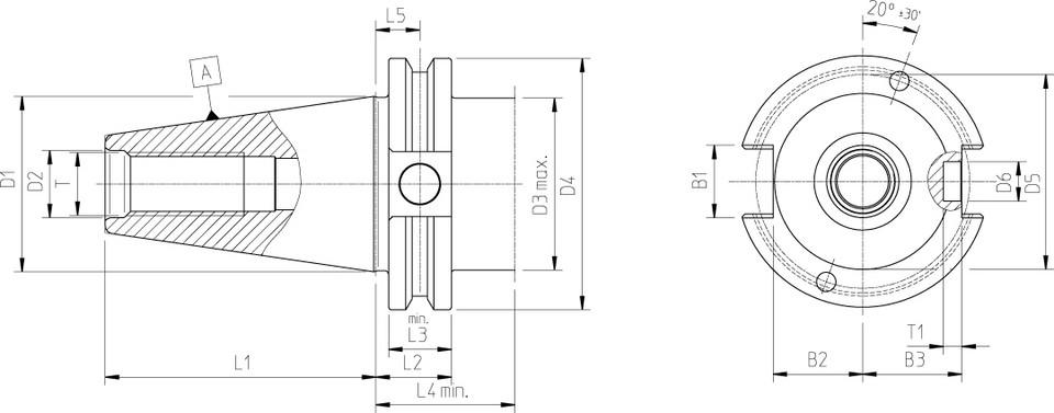 Tool Holders ASME B5.50 CAT40/CAT50 - HAIMER