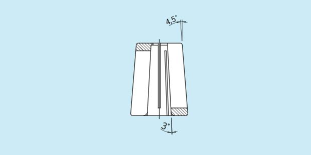 16 Standard 6 mm-12 mm for Mini Shrink Haimer 80.105.14.2.16 Cooling Adapter for Cooling Body
